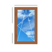 Дерев'яне вікно, одностулкове 700 x 1400 Forest Line, 4-16-4i