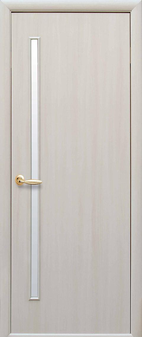 Міжкімнатні двері «ПВХ Deluxe» модель «Глорія» Екошпон