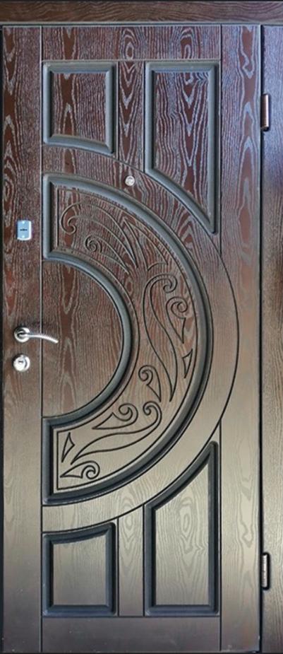 Двері вхідні ТМ «Lvivski Polimer» серія «Optima New » модель 11 960х2050