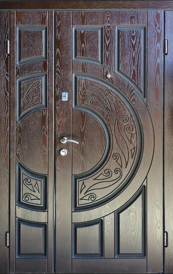 Двері вхідні ТМ «Lvivski Polimer» серія «Optima New » модель 11 1200х2050