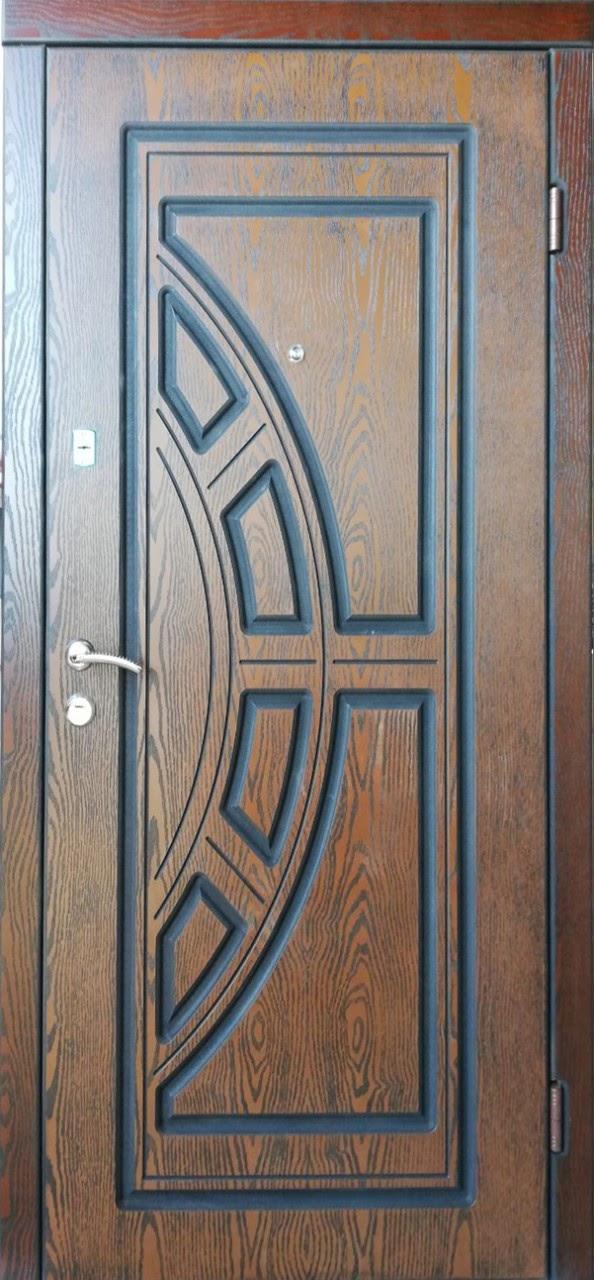 Двері вхідні ТМ «Lvivski Polimer» серія «Optima New » модель 6 1200х2050