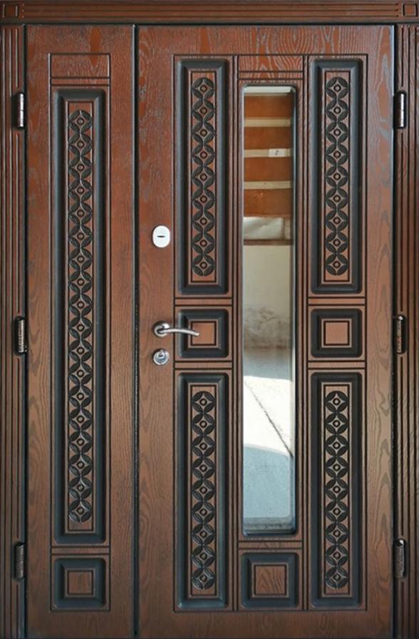 Двері вхідні ТМ «Lvivski Polimer» серія «Optima New » модель 9 1200х2050