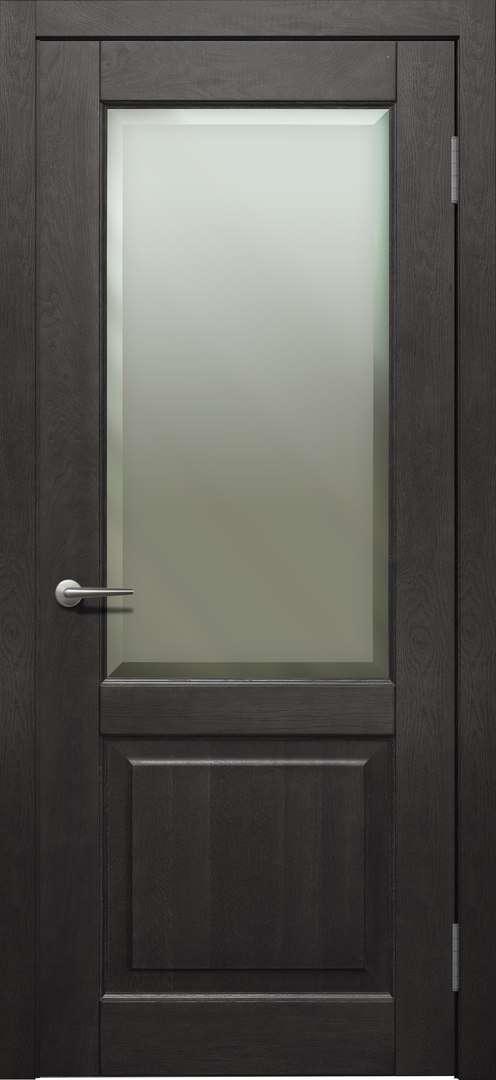 Міжкімнатні двері TP-032.F, дуб морений