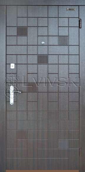 Вхідні двері ТМ «Lvivski» LV-213