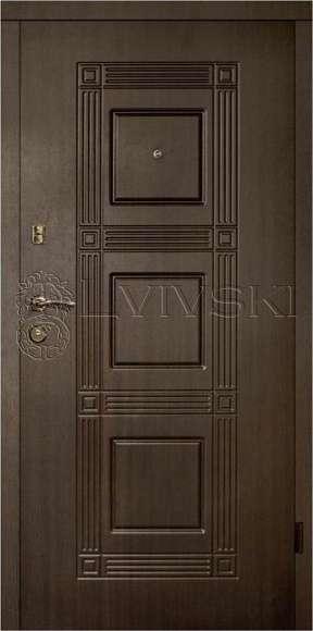Вхідні двері ТМ «Lvivski» LV-202